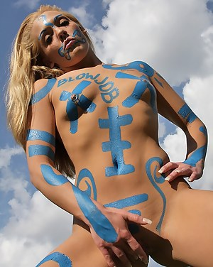 Best Teen Body Paint Porn Pictures
